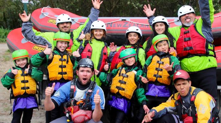 Rafting-Taupo-Rafting down the Tongariro River in Turangi near Taupo-6