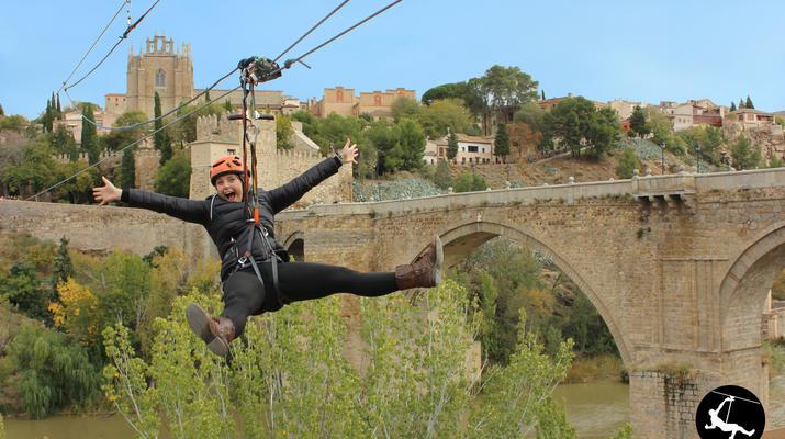 Zip-Lining-Toledo-Urban Zip Line Experience in Toledo near Madrid-1
