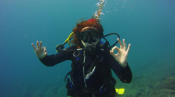Plongée sous-marine-El Médano, Tenerife-PADI Discover Scuba Diving à Los Abrigos près de El Medano, Tenerife-5