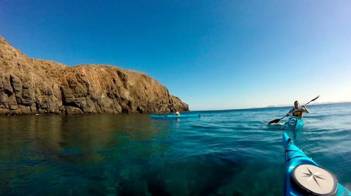 Sea Kayaking-Playa Blanca, Lanzarote-Kayak & Snorkel excursion to Playa Papagayo, Lanzarote-26