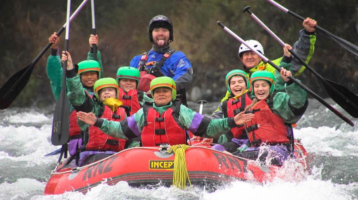 Rafting-Taupo-Rafting down the Tongariro River in Turangi near Taupo-5