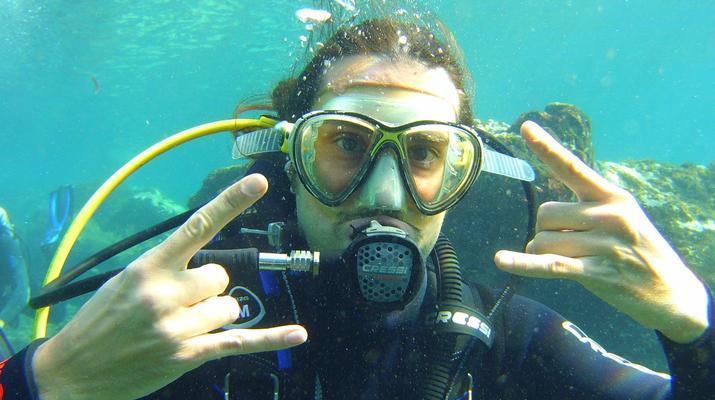 Plongée sous-marine-El Médano, Tenerife-PADI Discover Scuba Diving à Los Abrigos près de El Medano, Tenerife-1