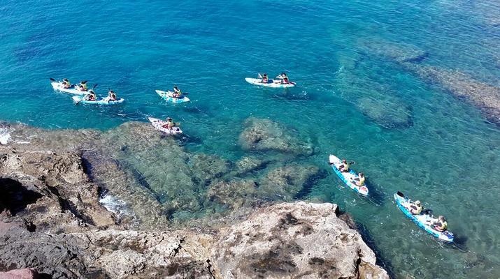 Sea Kayaking-Playa Blanca, Lanzarote-Kayak & Snorkel excursion to Playa Papagayo, Lanzarote-22