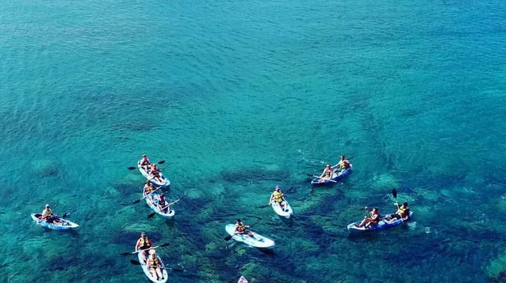 Sea Kayaking-Playa Blanca, Lanzarote-Kayak & Snorkel excursion to Playa Papagayo, Lanzarote-29
