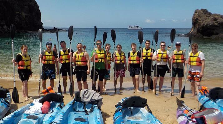 Sea Kayaking-Playa Blanca, Lanzarote-Kayak & Snorkel excursion to Playa Papagayo, Lanzarote-25