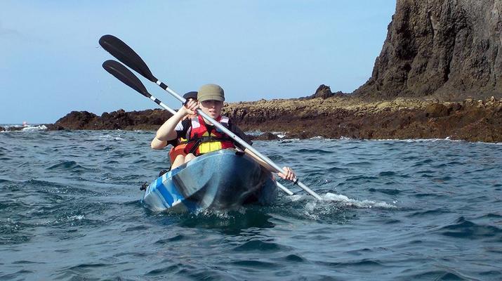 Sea Kayaking-Playa Blanca, Lanzarote-Kayak & Snorkel excursion to Playa Papagayo, Lanzarote-17