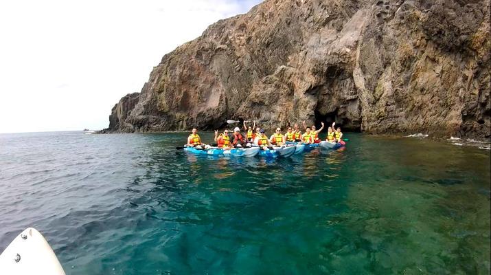 Sea Kayaking-Playa Blanca, Lanzarote-Kayak & Snorkel excursion to Playa Papagayo, Lanzarote-24