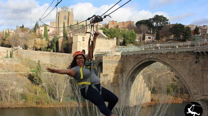 Zip-Lining-Toledo-Urban Zip Line Experience in Toledo near Madrid-5
