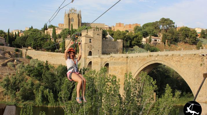 Zip-Lining-Toledo-Urban Zip Line Experience in Toledo near Madrid-3