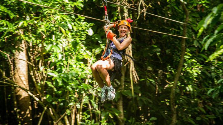 Zip-Lining-Punta Cana-Zip lining circuit near Punta Cana-2