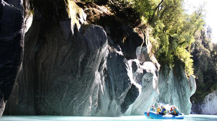 Rafting-Franz Josef Glacier-Whitewater rafting near Franz Josef Glacier-4