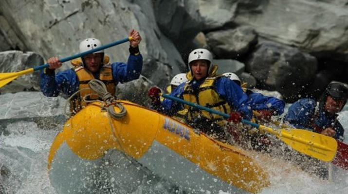 Rafting-Franz Josef Glacier-Whitewater rafting near Franz Josef Glacier-3