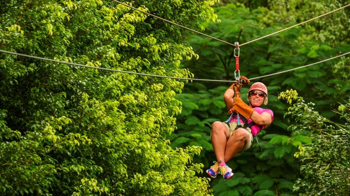 Zip-Lining-Punta Cana-Canopy tours in Punta Cana-2