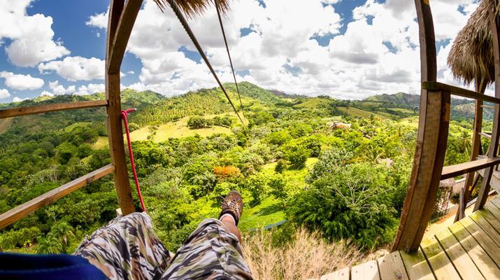 Zip-Lining-Punta Cana-Canopy tours in Punta Cana-1