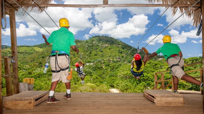 Zip-Lining-Punta Cana-Canopy tours in Punta Cana-6