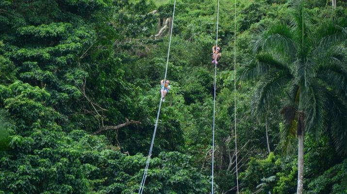 Zip-Lining-Punta Cana-Canopy tours in Punta Cana-4