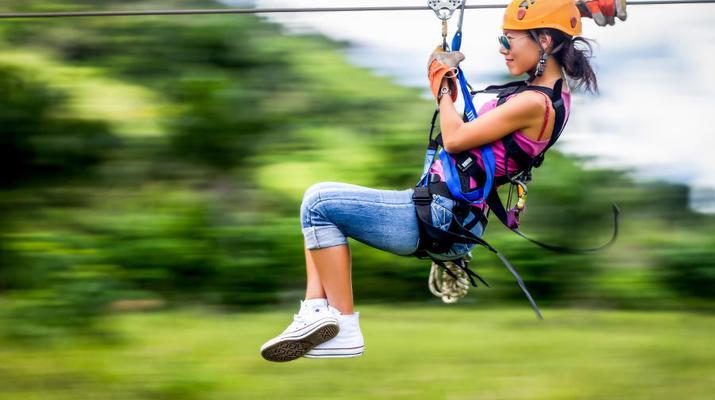 Zip-Lining-Punta Cana-Zip lining circuit near Punta Cana-3