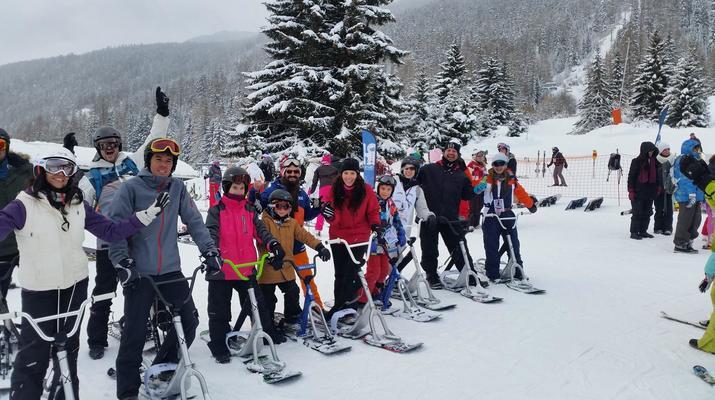 Experiencias en la nieve-Val Cenis, Haute Maurienne-Iniciación al snowscoot en Val Cenis-4
