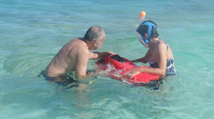 Snorkeling-Saint-François-Excursion Seabob à Anse à la Gourde, Guadeloupe-1
