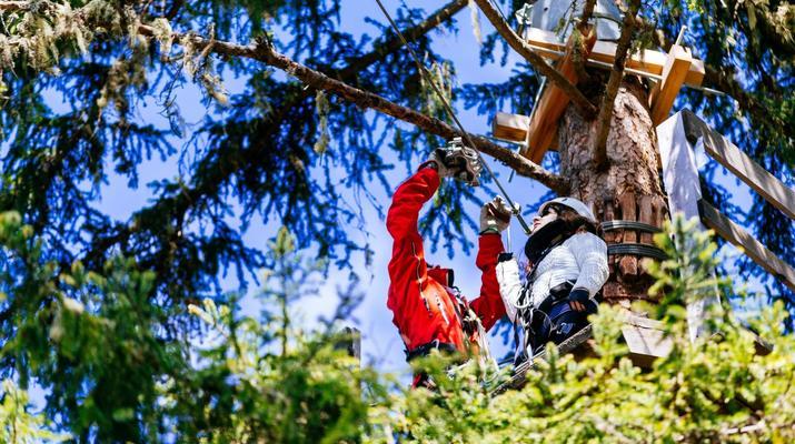 Zipline-Kronplatz-Zip-Lining in San Vigilio di Marebbe in der Nähe des Kronplatzes-8