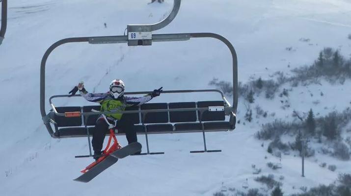 Experiencias en la nieve-Val Cenis, Haute Maurienne-Iniciación al snowscoot en Val Cenis-5