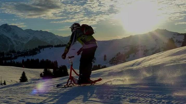 Experiencias en la nieve-Val Cenis, Haute Maurienne-Iniciación al snowscoot en Val Cenis-2