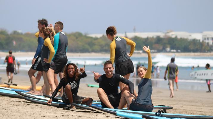 Surfing-Canggu-Surfing course on Kuta Beach in Bali-5