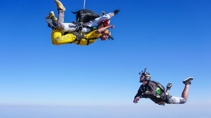 Skydiving-Sevilla-Tandem Skydive from 3100m in Sevilla-5