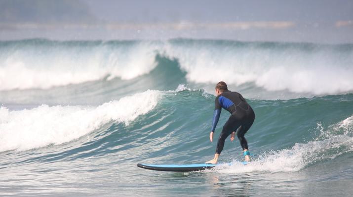Surfing-Canggu-Surfing course on Kuta Beach in Bali-1