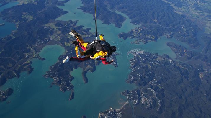 Skydiving-Paihia-Tandem Skydiving in the Bay of Islands, Paihia-1
