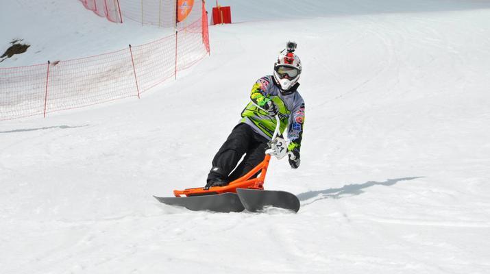 Experiencias en la nieve-Val Cenis, Haute Maurienne-Iniciación al snowscoot en Val Cenis-1
