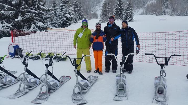 Experiencias en la nieve-Val Cenis, Haute Maurienne-Iniciación al snowscoot en Val Cenis-6
