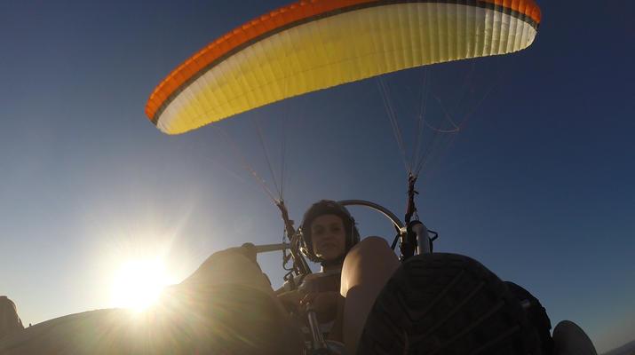Paramotoring-Loulé-Tandem paramotor flight in Algarve, near Loulé-1