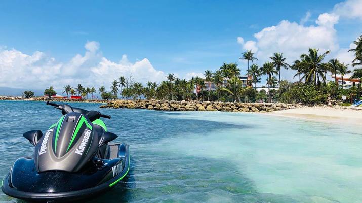 Jet Ski-Le Gosier-Initiation Jet Ski au Gosier en Guadeloupe-2