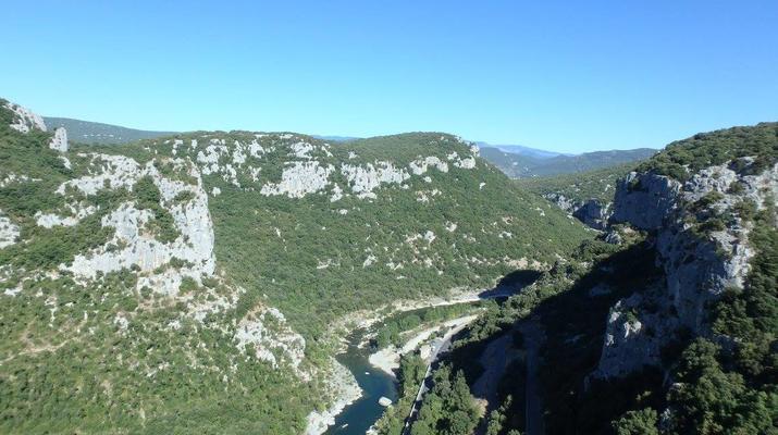 Via Ferrata-Montpellier-Via Ferrata du Thaurac près de Montpellier-6