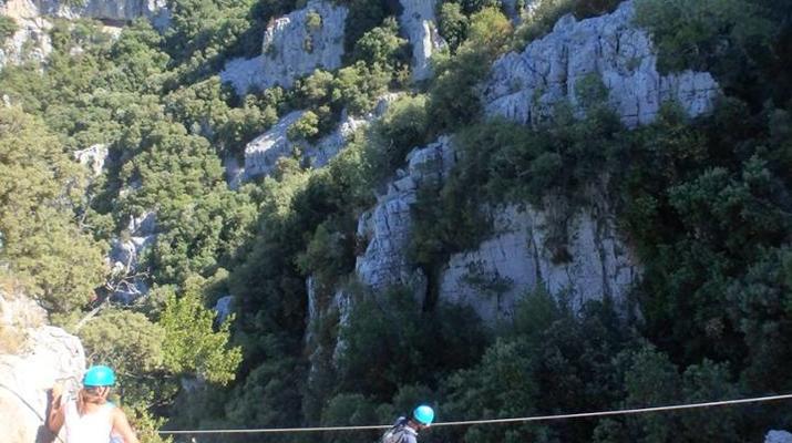 Via Ferrata-Montpellier-Via Ferrata du Thaurac près de Montpellier-2