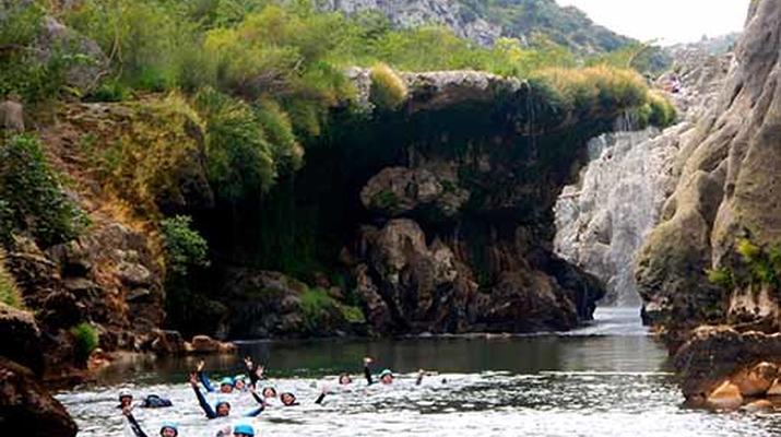 Canyoning-Montpellier-Canyon du Diable près de Montpellier-3