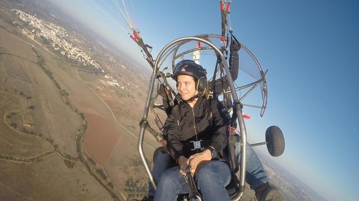 Paramotoring-Loulé-Tandem paramotor flight in Algarve, near Loulé-3