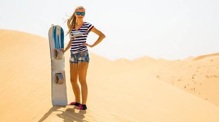 Sandboarding-Dubai-Sandboarding excursion in Dubai-3
