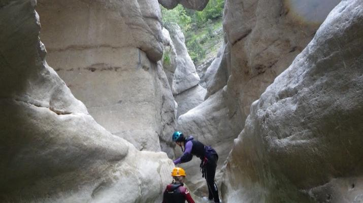 Canyoning-Nice-Canyon du Riolan près de Nice-2