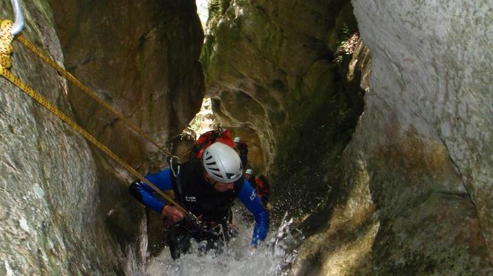 Canyoning-Nice-Canyon de l'Imberguet près de Nice-3