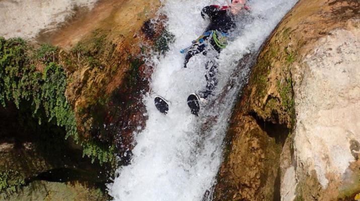 Canyoning-Nice-Canyon des Gorges du Loup près de Nice-5