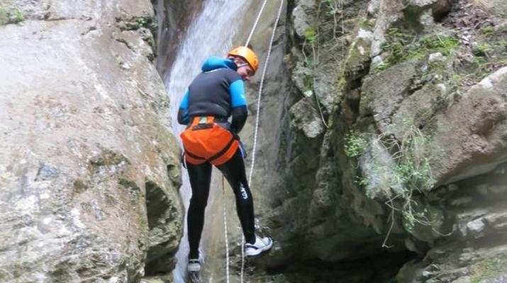 Canyoning-Nice-Canyon de l'Imberguet près de Nice-6