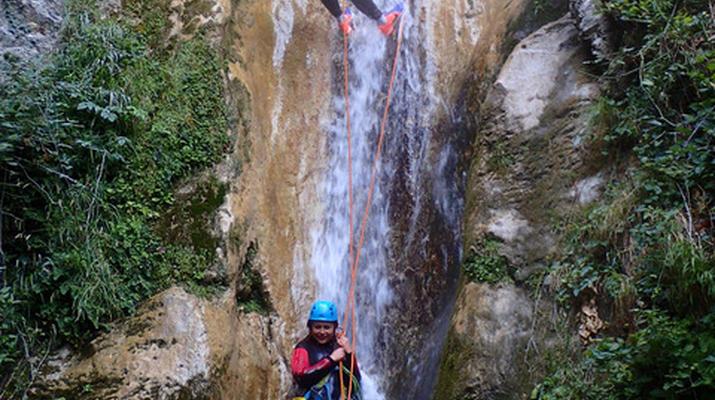 Canyoning-Nice-Canyon des Gorges du Loup près de Nice-6
