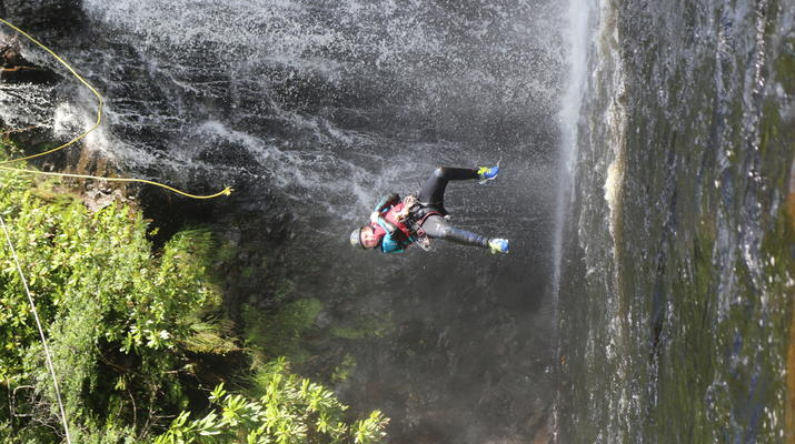 Canyoning-Fort William-Inchree Falls-Schlucht in Fort William-5