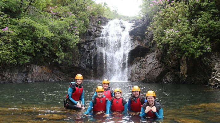 Canyoning-Fort William-Inchree Falls-Schlucht in Fort William-2