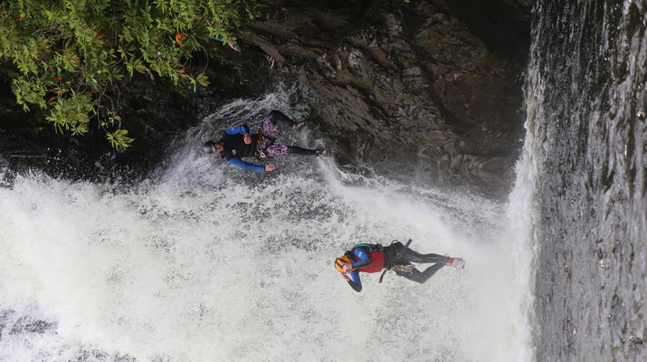 Canyoning-Fort William-Inchree Falls-Schlucht in Fort William-4