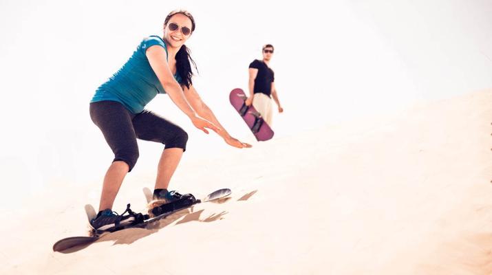 Sandboarding-Dubai-Sandboarding excursion in Dubai-5