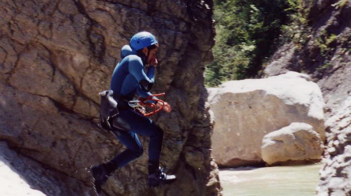 Canyoning-Nice-Canyon du Riolan près de Nice-1