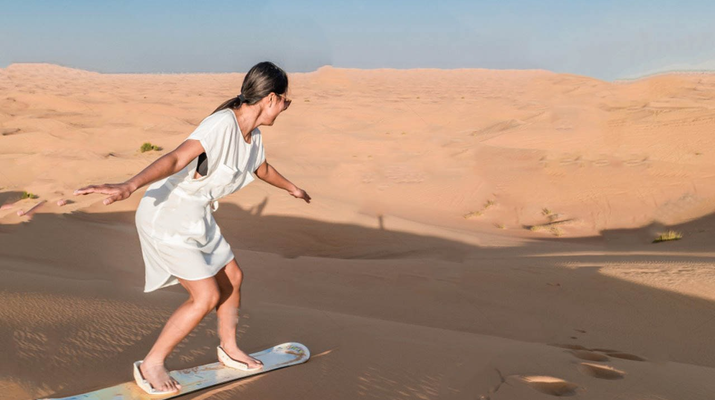 Sandboarding-Dubai-Sandboarding excursion in Dubai-1